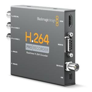 Blackmagic Design - H264 Pro Recorder