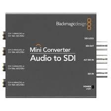 Blackmagic Design - Mini Converter Audio to SDI